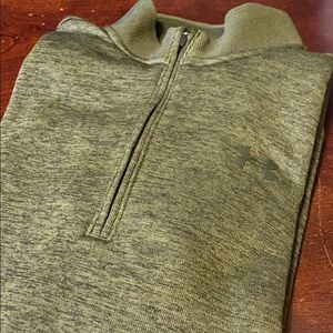 Green Under Armour Pullover Jacket